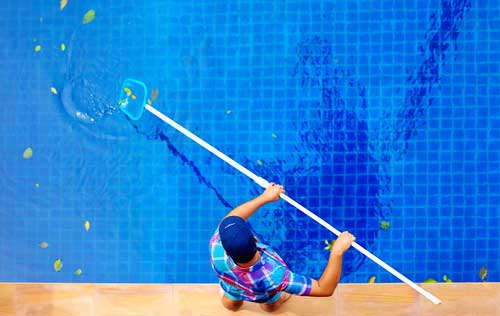 Swimming Pool Cleaning Clermont , Fl